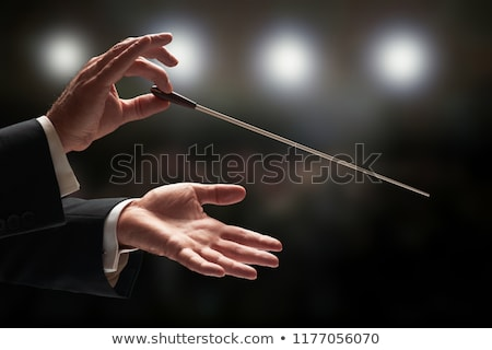 music conductor Stock photo © Twinkieartcat