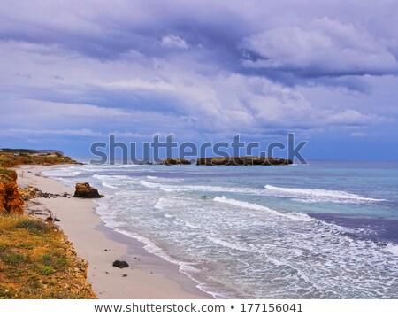 Platja de Sant Tomas beach at Menorca island Stock photo © tuulijumala