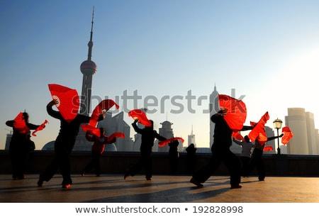 люди азиатской культуры группа людей белый пару Сток-фото © bluering