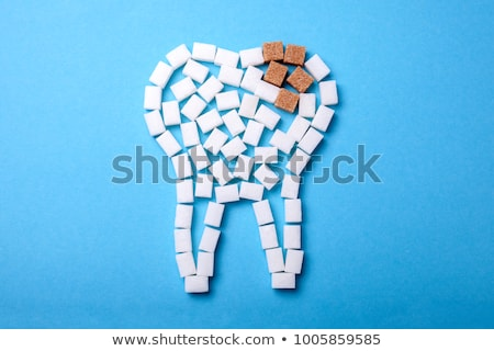 teeth sugar stock photo © lightsource