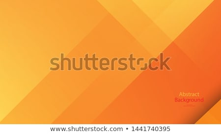 オレンジ 低い 抽象的な 幾何学的な 文字 紙 ストックフォト © user_11397493