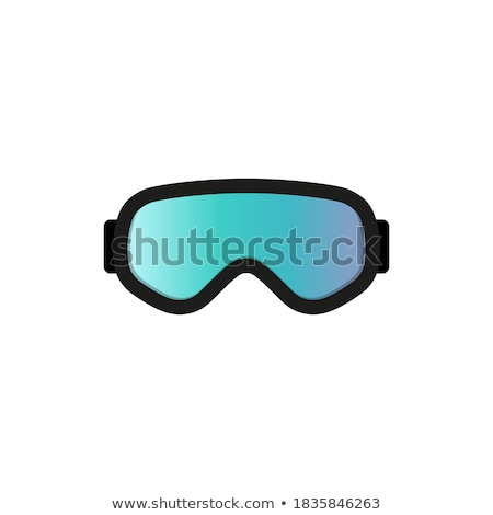 Oranje stofbril gezicht ontwerp bril zonnebril Stockfoto © martin33