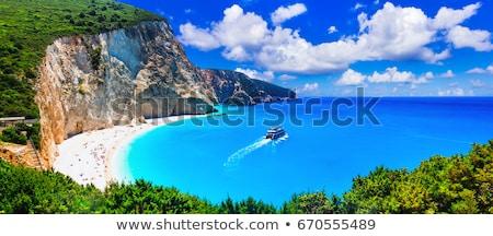 Greece. Most beautiful beaches. Porto Katsiki in Lefkada island Stock photo © Freesurf