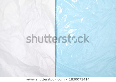 Blue Abstract Foil Damaged Stock photo © FOTOYOU