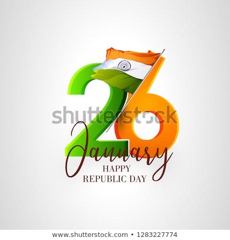 Calendário vinte internacional alfândega dia Foto stock © Oakozhan