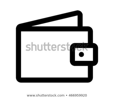 bitcoin · contabili · caso · icona · vettore · applicazione - foto d'archivio © ahasoft