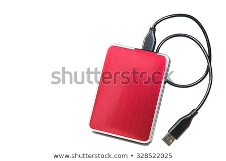 External disk drive Stock photo © vtls