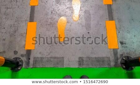 Concrete pedestrian walkway texture Stock photo © stevanovicigor