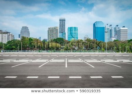 parking · ściany · miejskich · używany · tekstury - zdjęcia stock © konradbak