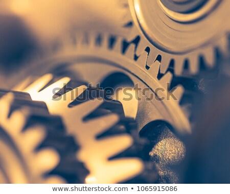 mecanismo · edad · artes · negro · tecnología · metal - foto stock © rufous