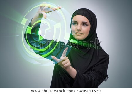 Arab women_complex Stock photo © toyotoyo