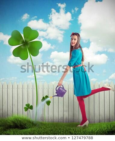 Büyü kız küçük büyücü karakter Stok fotoğraf © Soleil