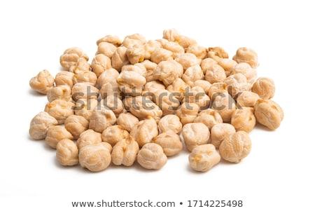 raw dried chickpeas stock photo © digifoodstock