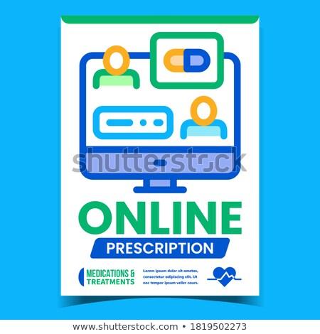 Foto stock: Farmácia · internet · promo · banners · conjunto