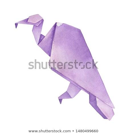 Komoly rajz dögkeselyű illusztráció állat Stock fotó © cthoman