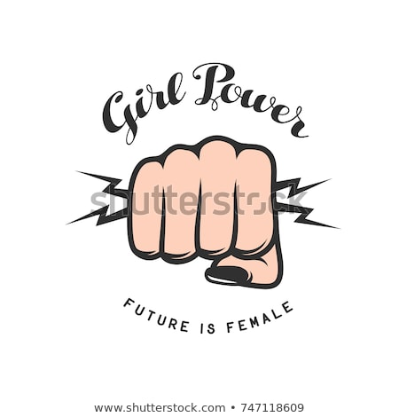 girl power concept foto stock © anna_leni
