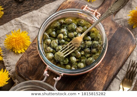 False capers made from young dandelion buds Stock photo © madeleine_steinbach