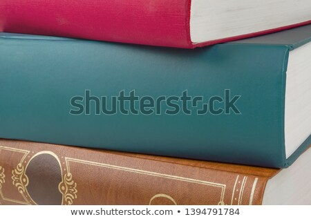 An unlabeled book spine with copy space Stock photo © Zerbor