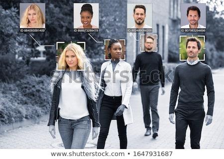 Menschen Gesichter geistigen Lernen selektiven Fokus Frau Stock foto © AndreyPopov