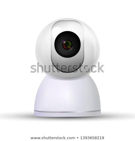 現実的な · デジタルカメラ · 単純な · 実例 · 白 · 男 - ストックフォト © pikepicture