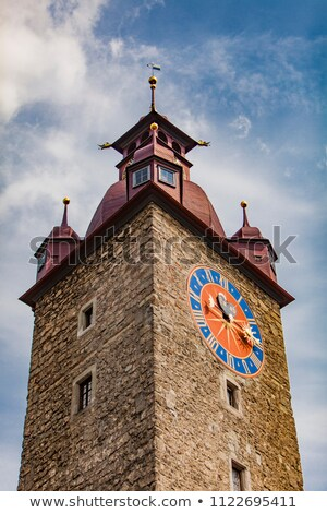 ратуша часы башни итальянский здании город Сток-фото © borisb17