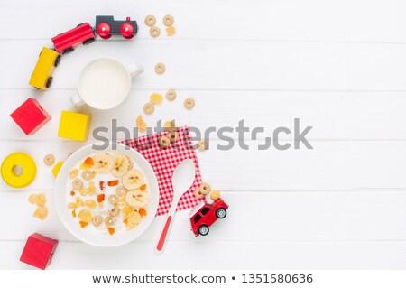 speelgoed · stoom · motor · oude · Rood - stockfoto © paha_l