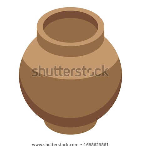 Stone-age Earthenware Jar Stock photo © Kacpura