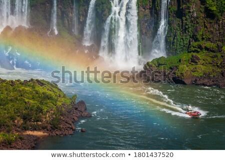 冒険 · ボート · 水 · 滝 · 熱帯 · 観光 - ストックフォト © Procy