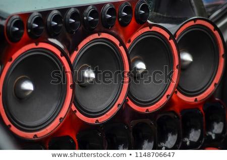 car power audio system Stock photo © goce