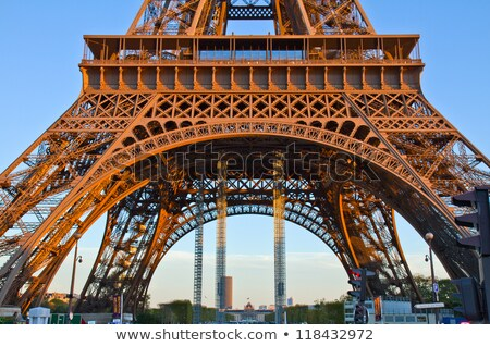 Eiffel Tower pillar Stock photo © Harlekino