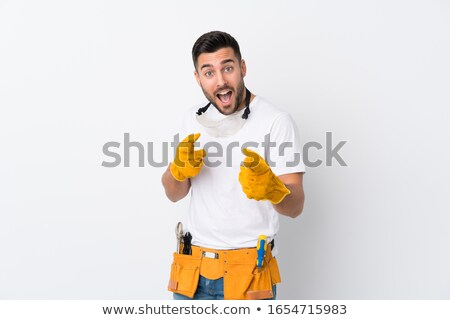 craftsman pointing at you Stock photo © photography33