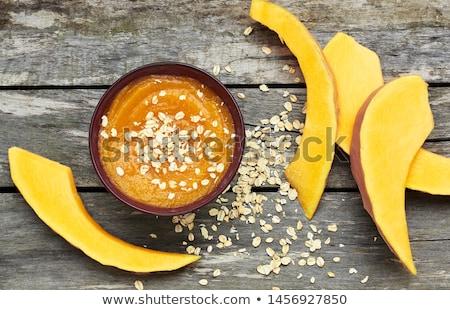 pumpkin porridge stock photo © yelenayemchuk