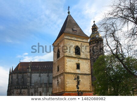 Bell tower of Saint Urban, Kosice, Slovakia Stock photo © phbcz