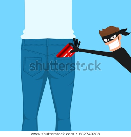 Hand Pickpocketing Wallet Of Businessman Stock photo © AndreyPopov