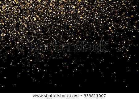 Stok fotoğraf: Altın · patlama · konfeti · eps · 10
