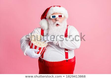 Wow papai noel natal férias ano novo Foto stock © studiostoks