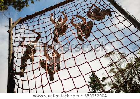 Military physical training Stock photo © pedromonteiro