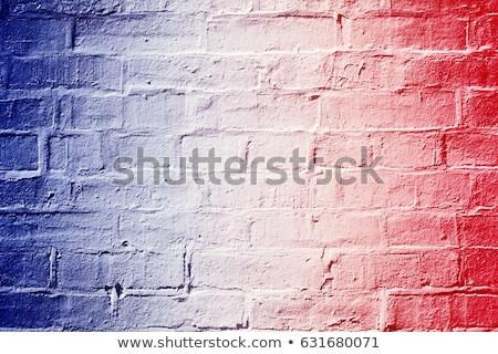 Bayraklar Fransa Amerika Birleşik Devletleri Amerika bo spor Stok fotoğraf © Zerbor