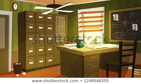Private investigation concept vector illustration Stock photo © RAStudio