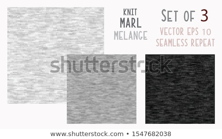Set of 10 knitted seamless patterns Stock photo © ShustrikS
