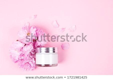 Beauty face cream moisturizer for sensitive skin, luxury spa cos Stock photo © Anneleven