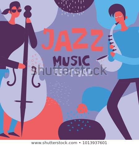 Audio farbenreich Design Stil Banner Vorlage Stock foto © Decorwithme