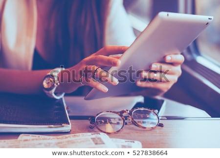 Новости бизнеса сеть связи цифровой Сток-фото © Iscatel