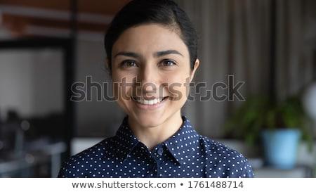 Retrato jovem feminino aprendiz mulher menina Foto stock © photography33