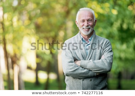 old man in the forest Stock photo © photography33