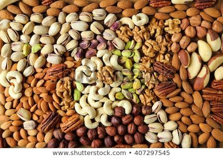 Various Nuts Background Stock photo © zhekos