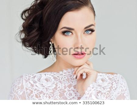 составляют тени для век макияж ювелирные лице здоровья Сток-фото © Victoria_Andreas