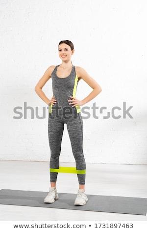 sportive girl stock photo © photography33