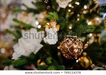 クリスマス 天使 装飾 面白い おもちゃ 翼 ストックフォト © tannjuska