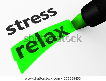 Zen VS Stress Stock photo © olivier_le_moal